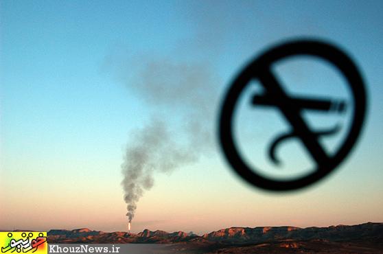 آلودگی های نفتی در خوزستان