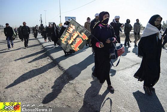پیادهروی عزاداران اربعین حسینی از نجف تا کربلا