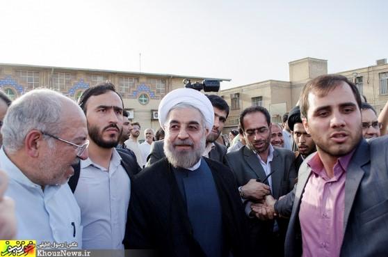 سفر انتخاباتی حسن روحانی به اهواز