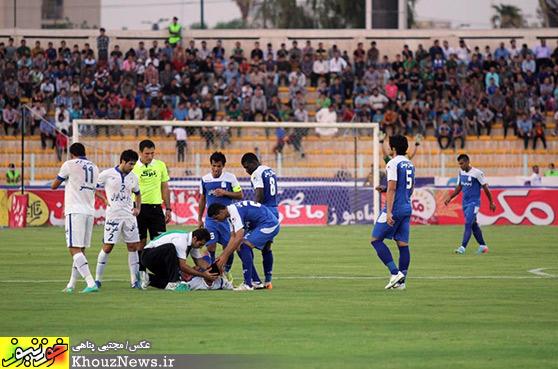 دیدار تیمهای استقلال خوزستان و استقلال