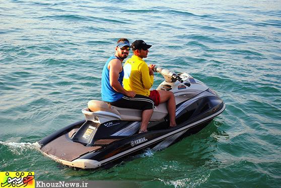 مسابقات قهرمانی قایق رانی خوزستان در دزفول