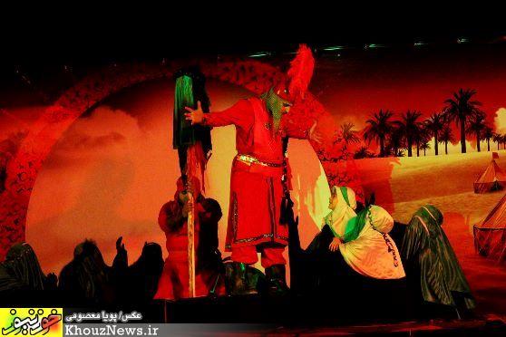 مراسم تعزیه شب های بین الحرمین در اهواز