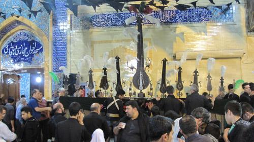 شب 5 محرم 1392، مسجد حجازی اهواز