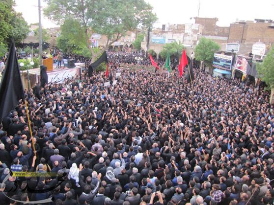 ۷ محرم ؛ همایش بزرگ عزاداران حسینی در دزفول