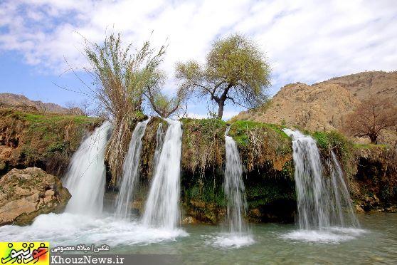 طبیعت و آبشارهای زیبای آرپناه در خوزستان