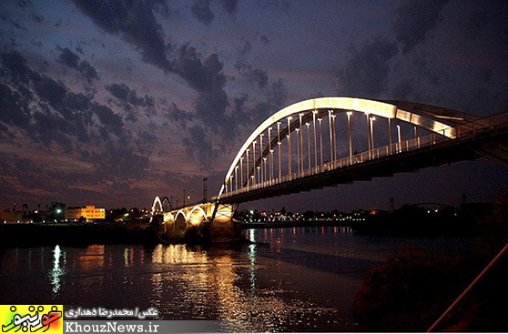عکس پل های اهواز