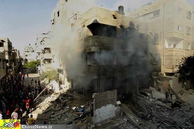 رمضان خونین مسلمانان غزه / Bloody Ramadan in Gaza | khouznews.ir