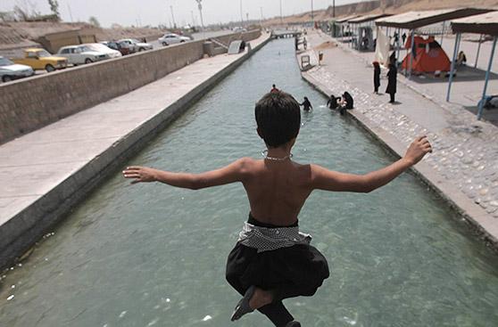 تله های مرگ جان شناگران را در دزفول تهدید می کند