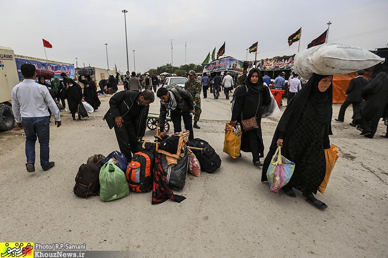 «مرز شلمچه» میزبانی شایسته برای زائران اربعین