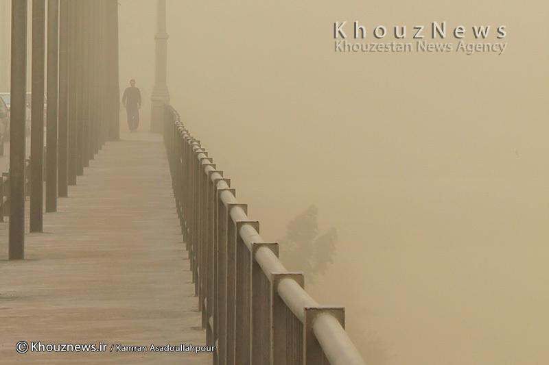وقوع گرد و غبار در خوزستان از 8 صبح تا ساعت 19 فردا