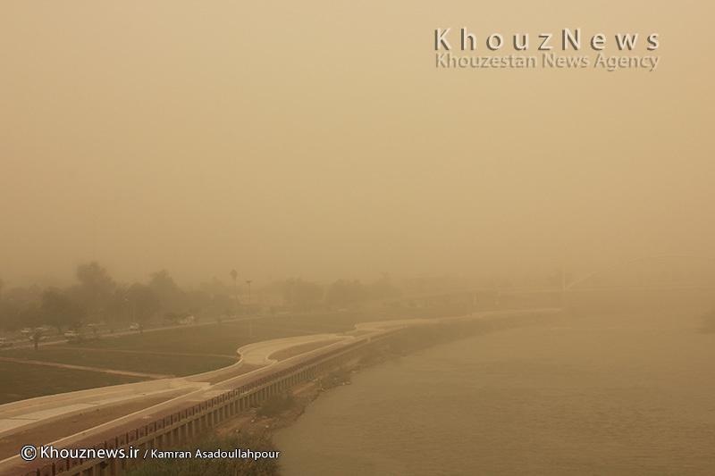 دلایل گرد و غبار اینروزهای خوزستان