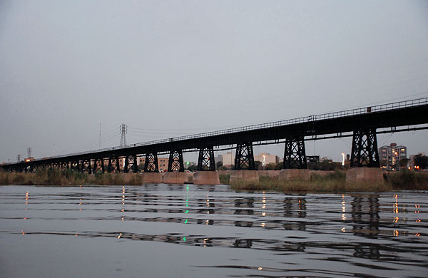 اهواز شهر پلهای زیبا / وجود ۹ پل بر رودخانه کارون