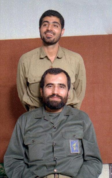 عکس / «حاج قاسم» در کنار سردار هور
