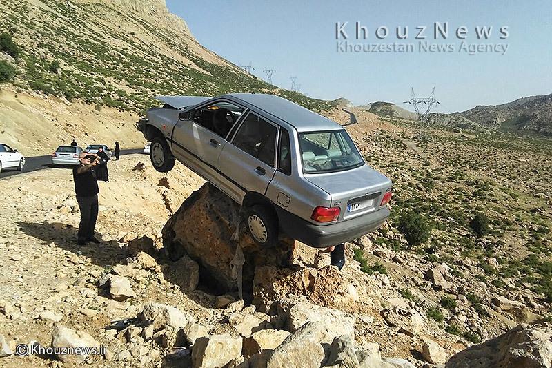 مشخصات پراید حوادث خوزستان تصادف پراید اخبار خوزستان