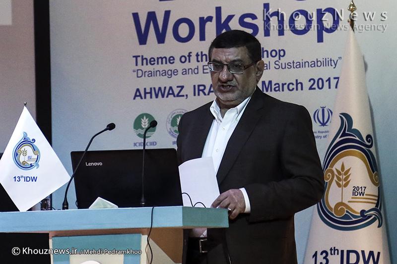 ضرورت مدیریت دو میلیارد متر مکعب زهاب در دشت های خوزستان