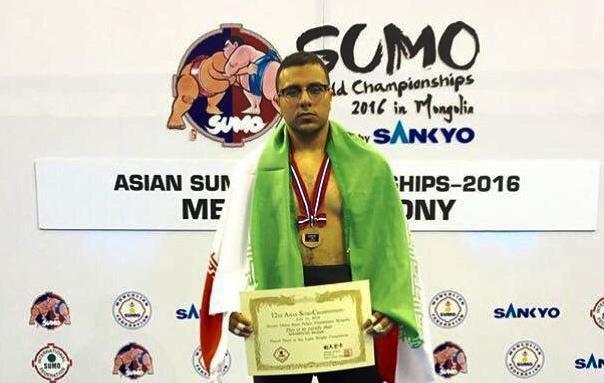 نخستین مدال تاریخ ایران در رشته سومو کسب شد