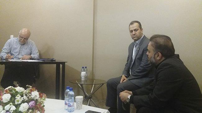 جلسه اختصاصی مدیرعامل شرکت فولاد اکسین خوزستان با وزیر نفت