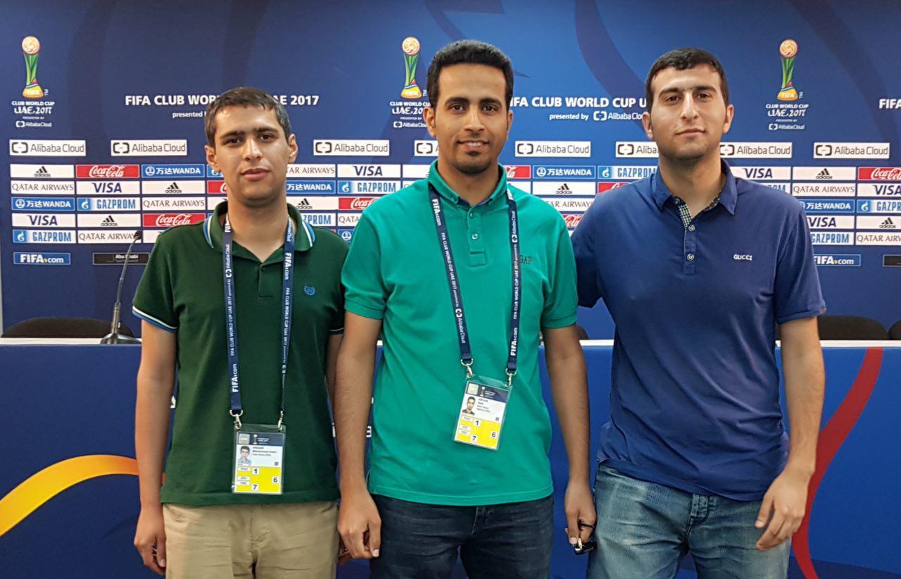 3 عکاس خوزستانی، فوتبال جام باشگاههای جهان را ثبت می کنند