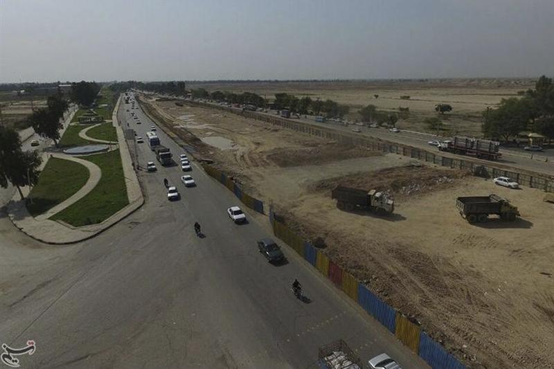 پروژه پل ورودی شهر جهانی شوش به کدام سمت میرود