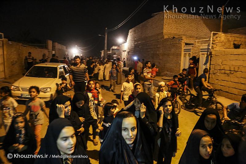 آئینهای ماه رمضان در خوزستان؛ زندگی مردم به شبها منتقل شد