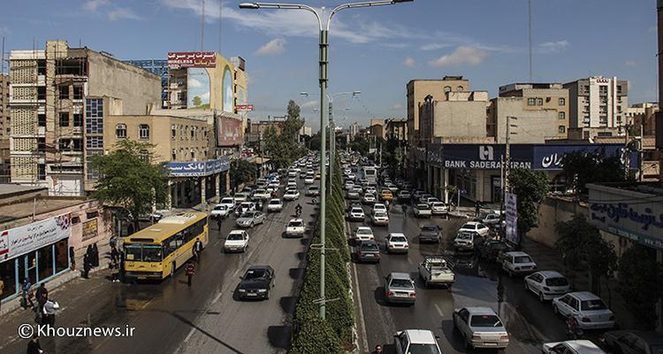 توقف ناوگان حمل و نقل عمومی اهواز در ایستگاه نوسازی