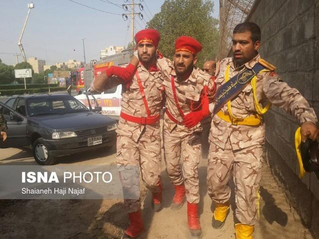 جزئیات حمله تروریستی در رژه نیروهای مسلح در اهواز + عکس