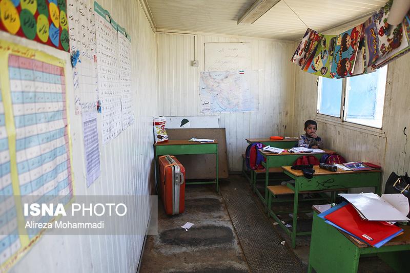 وجود 34 مدرسه چادری و کانکسی در ایذه