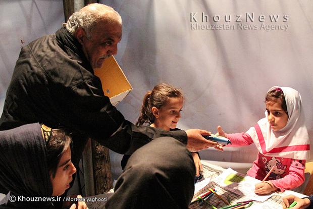 تصاویر / کارگاه نقاشی قصه عاشورا