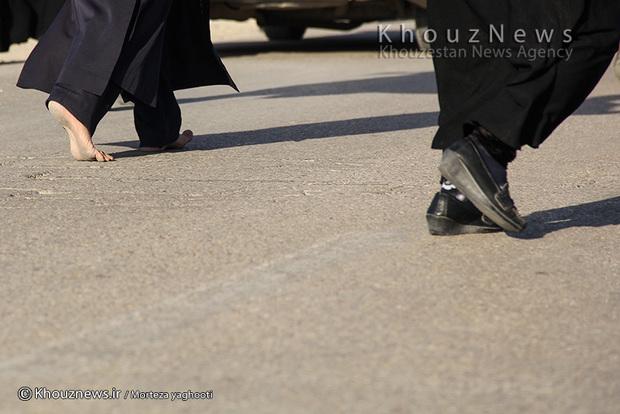 تصاویر / قدمگاه امام رضا(ع) در بهبهان وعده گاه جامانده ها از کاروان اربعین/ ۱