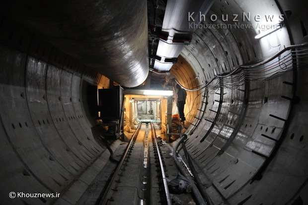 حفاری مکانیزه تونل طرح آبرسانی غدیر در خوزستان به اتمام رسید