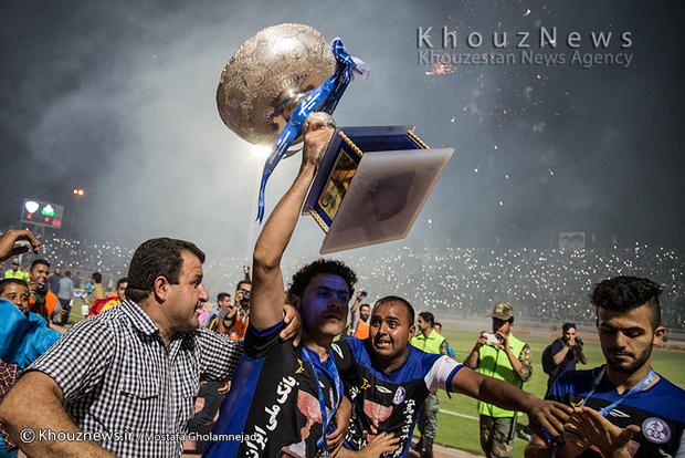تصاویر / جشن قهرمانی استقلال خوزستان در اهواز - ۱