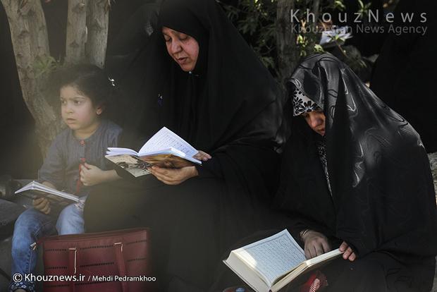 تصاویر / مراسم دعای روز عرفه در اهواز