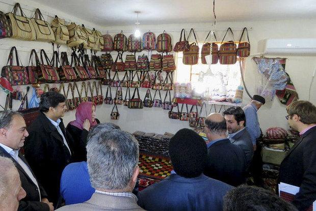 تصاویر/ بازدید کمیسرعالی سازمان ملل متحد از مهمانشهر بنی نجار گتوند