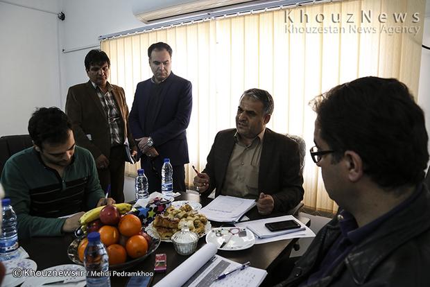 تصاویر / بازدید خبرنگاران از طرح 550 هکتار جهاد نصر در جلالیه