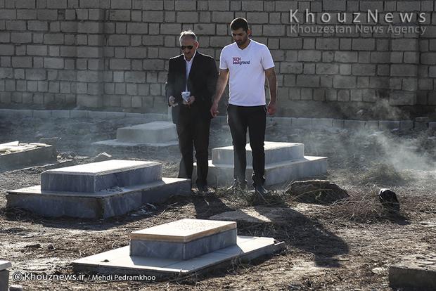 تصاویر / مراسم یادبود در گذشتگان در آرامستان آشوری،کلدانی،کاتولیک