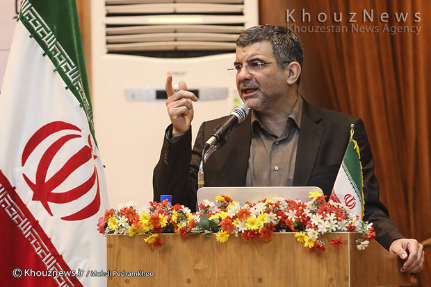 تصاویر / آئین تکریم و معارفه رئیس دانشگاه علوم پزشکی جندی شاپور اهواز