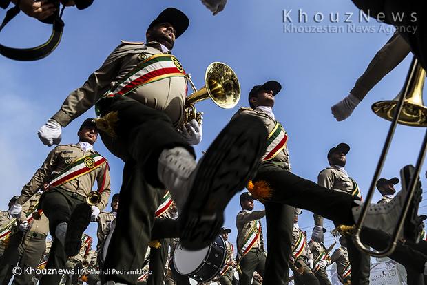 تصاویر / مراسم رژه روز ارتش در اهواز / 1