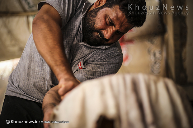 تصاویر / کارگاه دمام سازی احمد