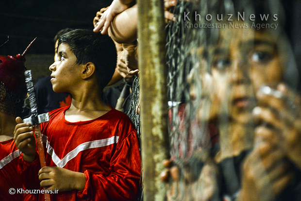 تصاویر / مراسم تعزیه واقعه کربلا