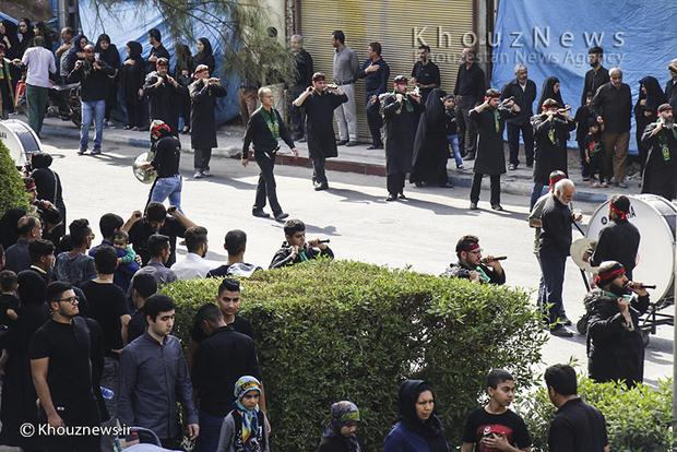 تصاویر / مراسم عزاداری روز عاشورای حسینی در اهواز