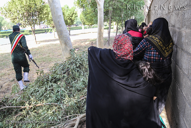 تصاویر / حمله تروریستی به رژه نیروهای مسلح در اهواز / 2