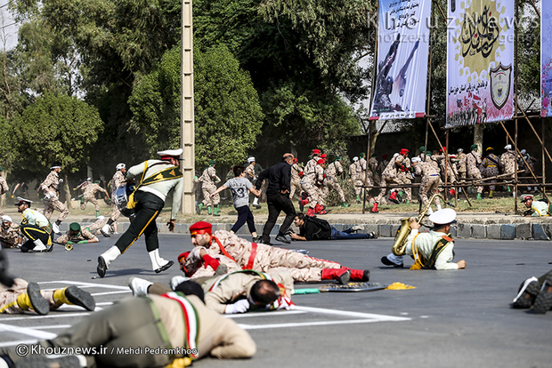 تصاویر / روایت تصویری از یک حادثه تروریستی در اهواز