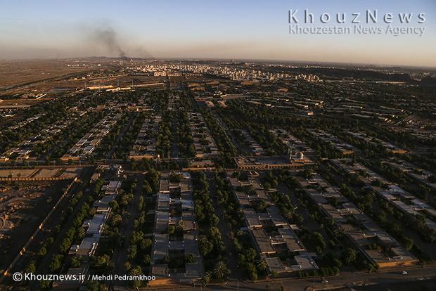 resized 109125 563 - گزارش تصویری / اهواز در محاصره دودهای نفتی