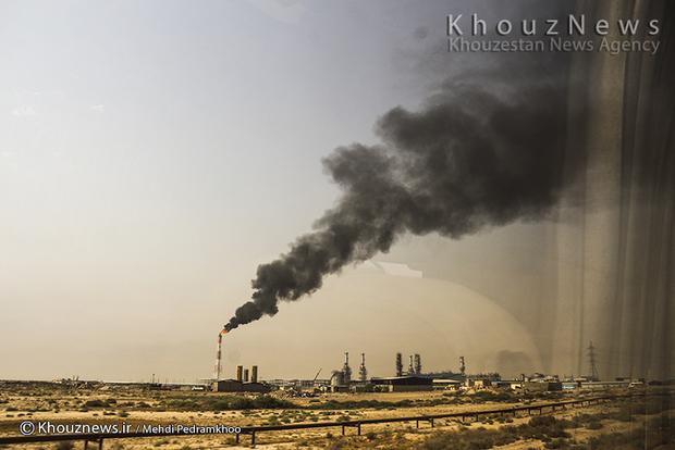 resized 109136 748 - گزارش تصویری / اهواز در محاصره دودهای نفتی
