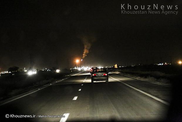 resized 109137 792 - گزارش تصویری / اهواز در محاصره دودهای نفتی