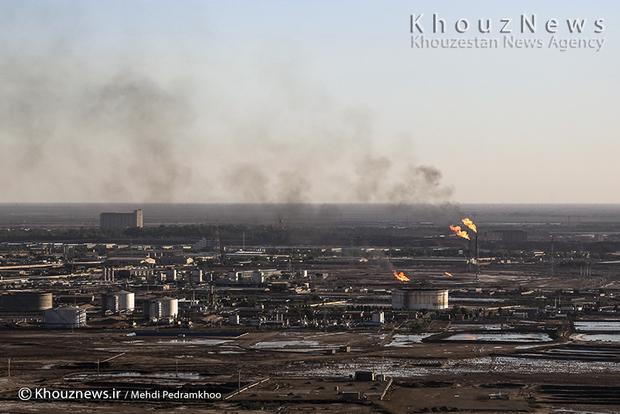 resized 109140 617 - گزارش تصویری / اهواز در محاصره دودهای نفتی