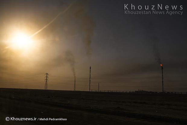 resized 109142 543 - گزارش تصویری / اهواز در محاصره دودهای نفتی
