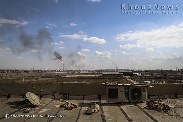 resized 109143 649 - گزارش تصویری / اهواز در محاصره دودهای نفتی