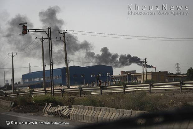 resized 109147 476 - گزارش تصویری / اهواز در محاصره دودهای نفتی