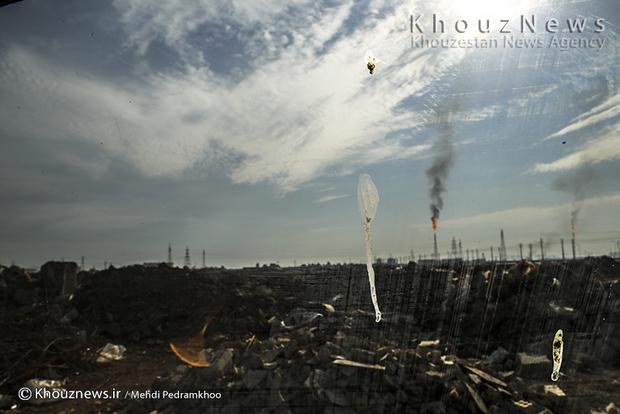 resized 109153 308 - گزارش تصویری / اهواز در محاصره دودهای نفتی
